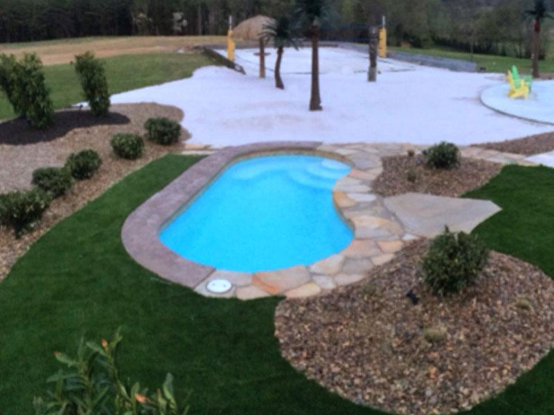 Affordable Pools, LLC | Kidney Viking Pools models Swimming Pool ...