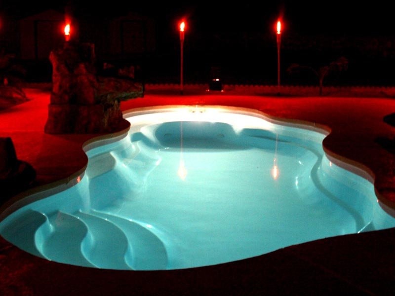 Affordable Pools, LLC   Swimming Pool Lighting Options from ...