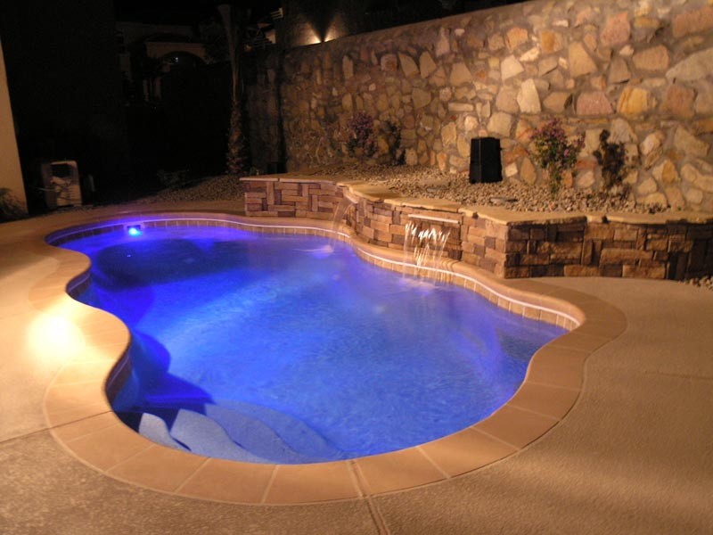 Affordable Pools Llc Swimming Pool Lighting Options From
